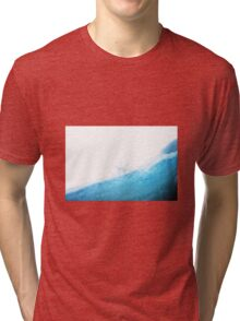 Snow Star (Landscape) Tri-blend T-Shirt