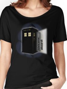 Tardis - Welcome Aboard! Women's Relaxed Fit T-Shirt
