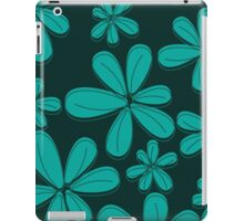 Blue Floral iPad Case/Skin
