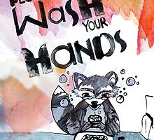 Please Wash Your Hands by Sarah Patrick