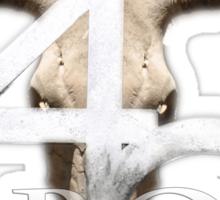4cbbq.com Sticker