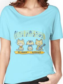 Cute singing kittens Women's Relaxed Fit T-Shirt