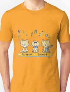 Cute singing kittens Unisex T-Shirt