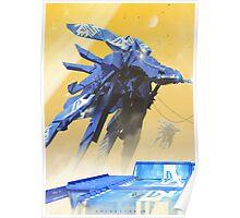blue monday Poster