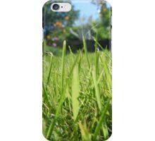 Grass view iPhone Case/Skin