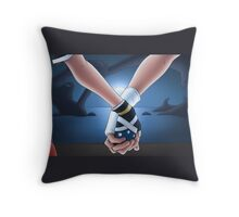 Passion after the battle Throw Pillow