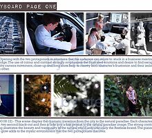 Faux Company Storyboard page 1 by VisualZoo