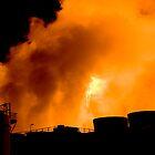 Altona's burning... Altona's burning... draw nearer... draw nearer... by Mark Elshout