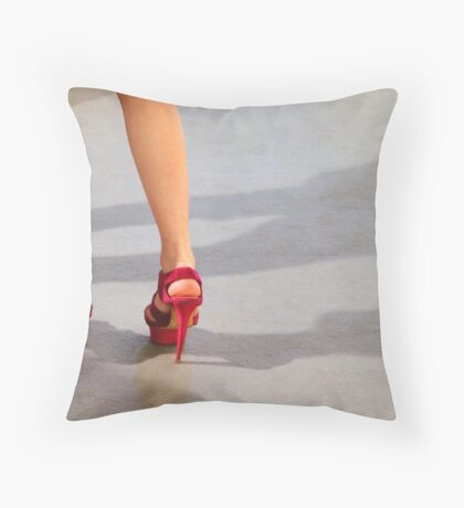High heels Throw Pillow