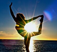 Dancing for the Sun Rise by Leonie Naronah