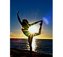 Dancing for the Sun Rise Photographic Print