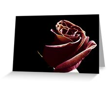 Velvet. Greeting Card
