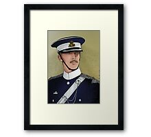 Major Jamie Stewart Framed Print
