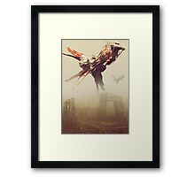 beijing incident Framed Print