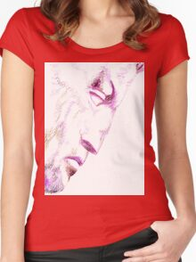 The Face of David Women's Fitted Scoop T-Shirt