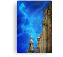 Thunder Lightning & The King Canvas Print