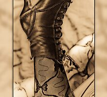 Sexy Boot Any Occasion Card by Moonlake