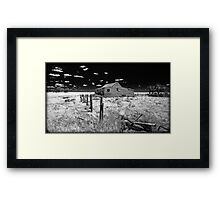 On the road again somewhere in Victoria Framed Print