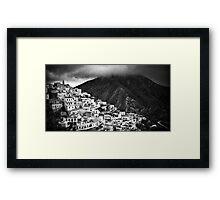 Olympos :: Karpathos Island Framed Print
