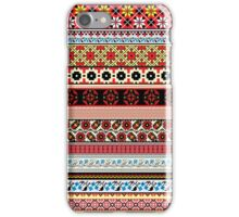 Floral Knitting Pattern iPhone Case/Skin