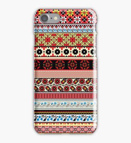 Floral Knitting Pattern iPhone Case/Skin