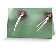 PINCERS Greeting Card