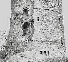 Hadleigh Castle by Kim Slater