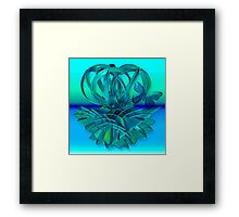 The crown flower Framed Print