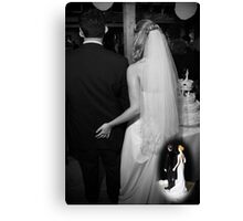 This Years Cake Topper Theme Canvas Print