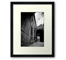 Where The Streets Have No Tarmac Framed Print
