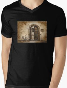 Italian Coffee Break Mens V-Neck T-Shirt