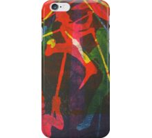 Ahab Aloft (from Meditations on Moby Dick) iPhone Case/Skin