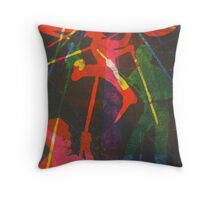 Ahab Aloft (from Meditations on Moby Dick) Throw Pillow