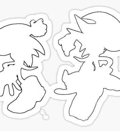 Sonic & Shadow Sticker