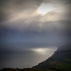 View over Charmouth by Lucy Martin