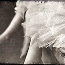 waiting ballerina's by theresalasichak