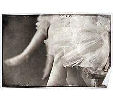 waiting ballerina's Poster