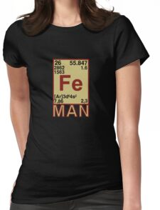 Iron Man Womens Fitted T-Shirt