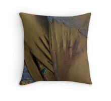 Copper seal Throw Pillow