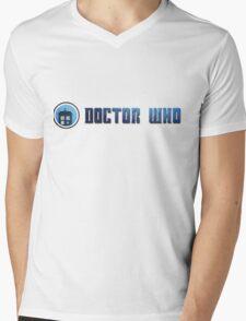 Doctor Who - Logo #5 Mens V-Neck T-Shirt