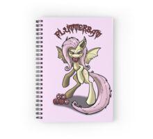Flutterbat (no background) Spiral Notebook