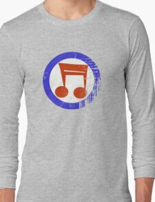 Music Mod Distressed Long Sleeve T-Shirt