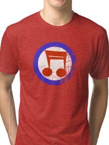Music Mod Distressed Tri-blend T-Shirt