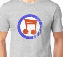 Music Mod Distressed Unisex T-Shirt