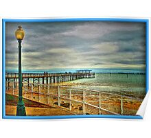 The Fishing Pier Poster