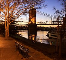 Fall Evening - Covington Kentucky by Tony Wilder