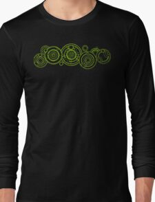 Doctor Who - The Doctor's name in Gallifreyan #3 Long Sleeve T-Shirt