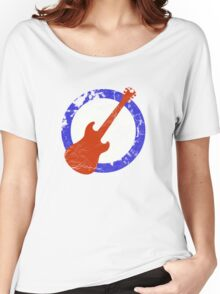 Guitar Mod Distressed Women's Relaxed Fit T-Shirt