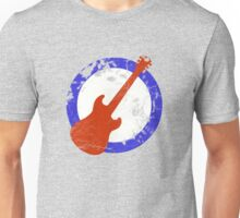 Guitar Mod Distressed Unisex T-Shirt