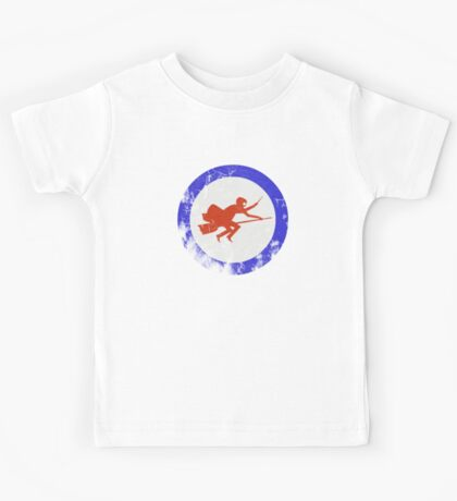 Ministry of Magic Air Force Insignia UK distressed Kids Tee
